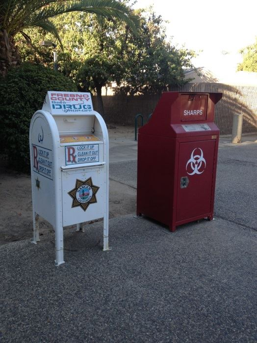 Prescription drop-off boxes