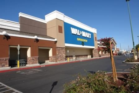 Front of Wal-Mart