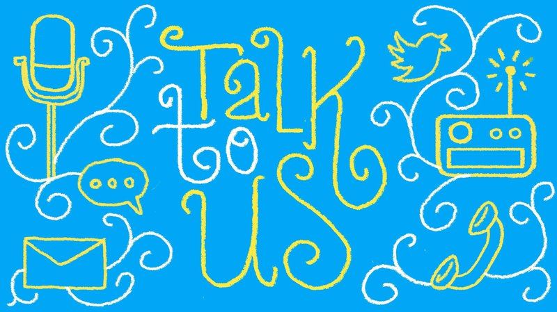 Talk to us image